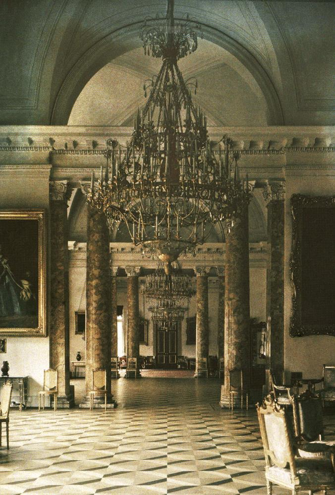 Suite of State Rooms, 1918 Autochrome by Andrei Zeest