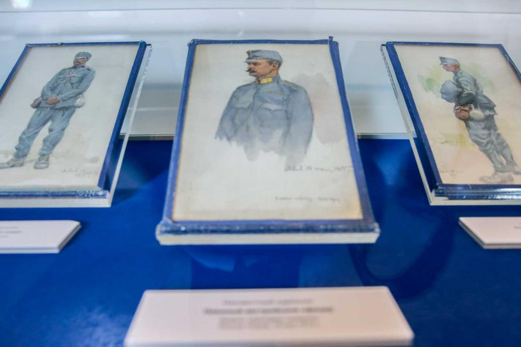 'Prisoners of War during WWI' exhibition